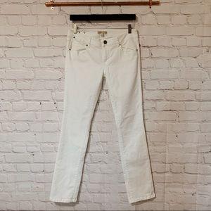 CAbi 752 white skinny pants